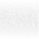 Omposition del ¡ di Ð dei punti grigi su un fondo bianco illustrazione di stock