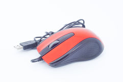 Сomputer mouse. On white background Stock Photo