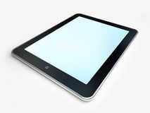 Сomputer tablet isolated Stock Photography