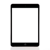 сomputer tablet with a isolated screen Stock Photo