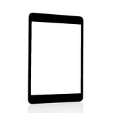 сomputer tablet with a isolated screen Stock Image