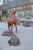 Område för 798 konst i Peking Arkivbilder