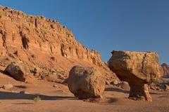 Område för rekreation för Glenkanjon nationellt Arkivfoton