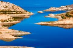 Område för rekreation för LakeMead nationellt Arkivbild