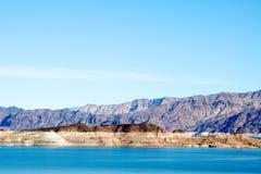 Område för rekreation för LakeMead nationellt Fotografering för Bildbyråer