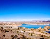 Område för rekreation för LakeMead nationellt Arkivfoto