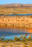 Område för rekreation för LakeMeadmedborgare Arkivbild