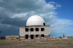 Område 35 Ploshadka 35 ru Sary Shagan arkivfoton