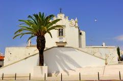 område portugal för albufeiraalgarve arkitektur royaltyfria bilder