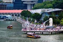 Område Singapore för central affär fotografering för bildbyråer