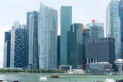 Område Singapore för central affär Royaltyfri Foto