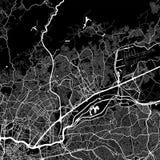 Områdesöversikt av Guarulhos, Brasilien Royaltyfria Bilder