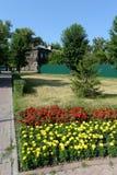 Områdesfrihetsfyrkant i Barnaul Royaltyfria Bilder