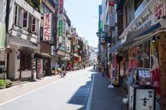 områdesjapan kichijoji tokyo Arkivbild