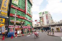 områdesjapan shinjuku tokyo Fotografering för Bildbyråer