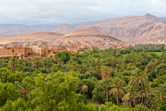 områdeskasbahs morocco tusen Arkivfoton