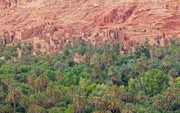 områdeskasbahs morocco tusen Royaltyfri Foto