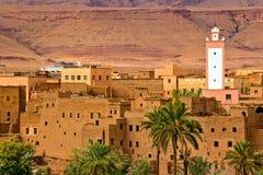 områdeskasbahs morocco tusen Royaltyfri Fotografi