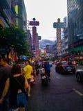Områdesyaowarat bangkok royaltyfri fotografi