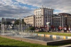 Området i mitten av Kazan, Tatarstan Fotografering för Bildbyråer
