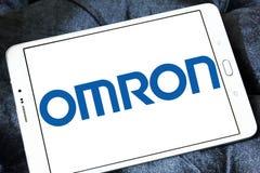 Omron Korporation logo royaltyfri fotografi