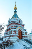 Omsk chapel Stock Image