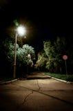 Midnight park Stock Photo