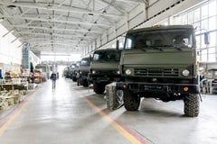 Omsk, Rússia - 16 de julho de 2013: fábrica Irtysh dos equipamentos eletrônicos Imagem de Stock