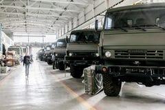 Omsk, Rússia - 16 de julho de 2013: fábrica Irtysh dos equipamentos eletrônicos Imagens de Stock