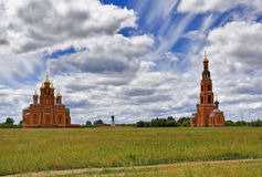 Omsk Region, Achair Monastery Stock Images