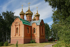 Omsk Region, Achair Monastery Royalty Free Stock Images