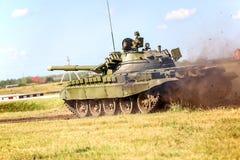 Omsk Rosja, Lipiec, - 07, 2011: międzynarodowa militarna wystawa Fotografia Royalty Free