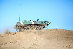Omsk, Russia - July 07, 2011: international military exhibition Royalty Free Stock Photography