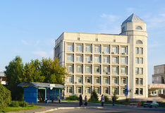 OMSK, RUSSIA - September 13, 2011:  building of rehabilitation center 'Omckiy' Stock Image