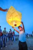 Omsk, Russie - 16 juin 2012 : festival de lanterne chinoise Images stock