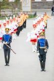 Omsk, Russie - 8 mai 2013 : régiment présidentiel Photo libre de droits