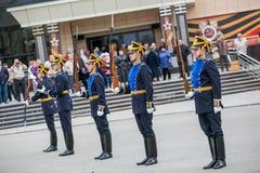 Omsk, Russie - 8 mai 2013 : régiment présidentiel Images stock