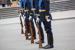 Omsk, Russie - 8 mai 2013 : régiment présidentiel Photographie stock