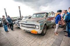 Omsk, Russland - 11. Juni 2013: Sammlung Peking-Paris Stockfotos