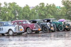 Omsk, Russland - 11. Juni 2013: Sammlung Peking-Paris Lizenzfreie Stockfotos