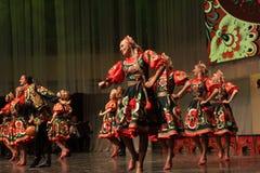 Omsk-Staatsrussischer Volkschor Stockbilder