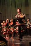 Omsk-Staatsrussischer Volkschor Stockfotografie