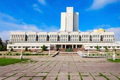 Omsk stanu Dzielnicowa biblioteka Obrazy Royalty Free