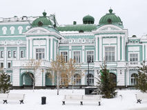 Omsk State Academic Drama Theatre Stock Image