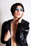 omslag inget sexigt skjortakvinnabarn Royaltyfri Foto