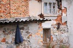 Omslag på den Sabby väggen Arkivbild