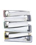 Omslagen met documenten Stock Foto