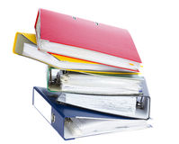 Omslagen voor documenten Royalty-vrije Stock Foto