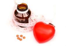 Omsorg för din hjärta Arkivfoton