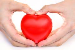 Omsorg för din hjärta Royaltyfri Foto